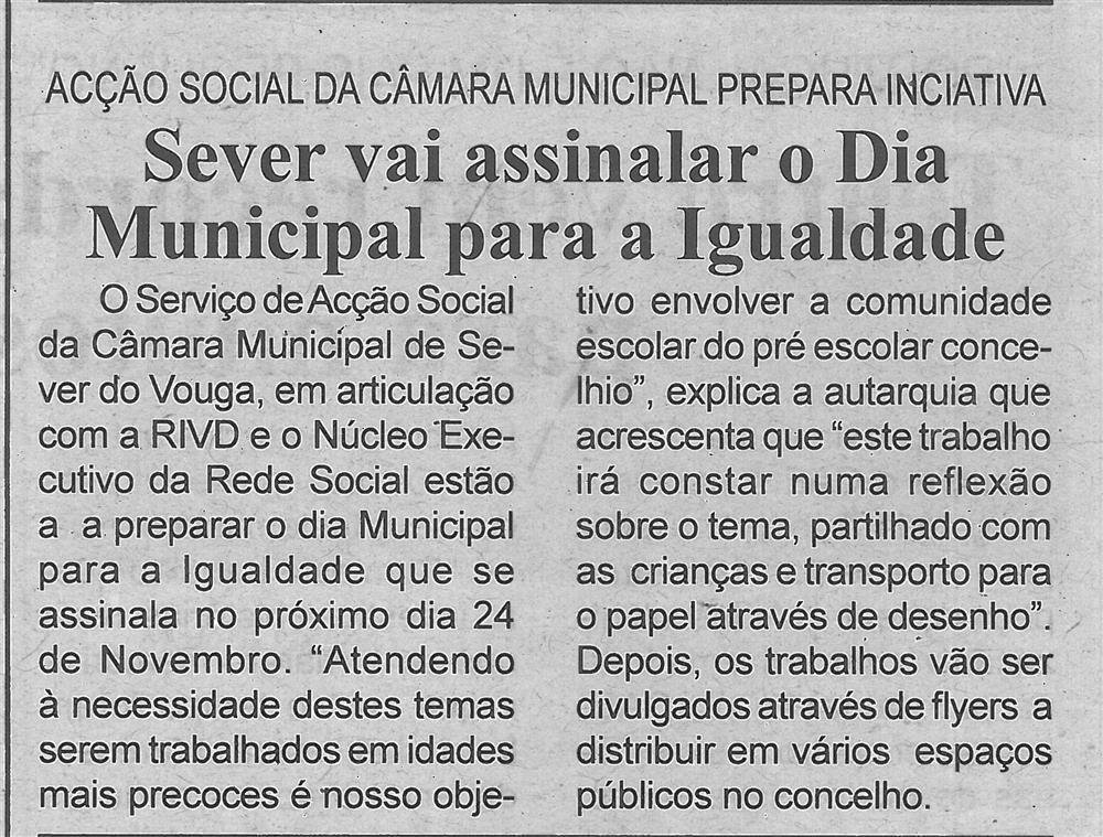 BV-2.ªout.'18-p.5-Sever vai assinalar o Dia Municipal para a Igualdade : Ação Social da Câmara Municipal prepara iniciativa.jpg