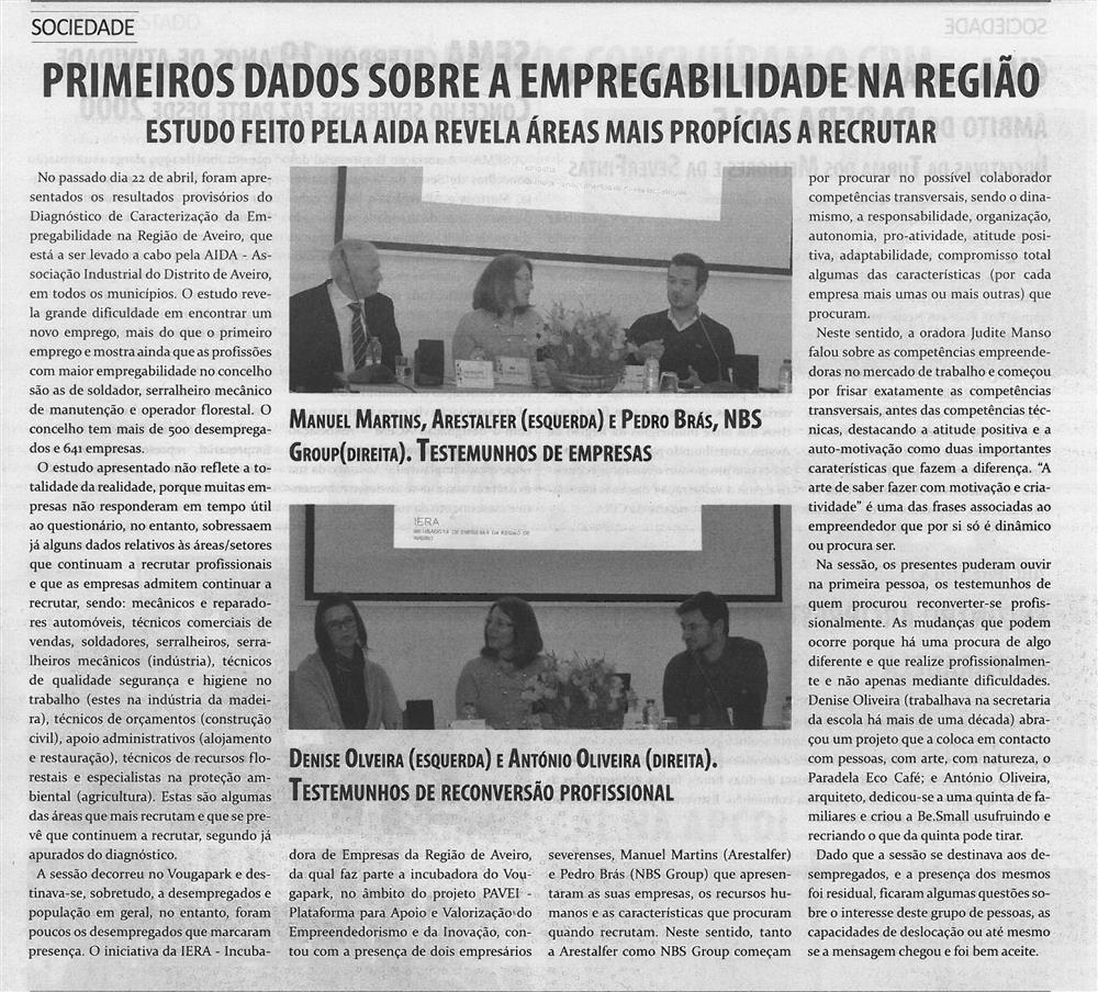 TV-maio'15-p.7-Primeiros dados sobre a empregabilidade na região : estudo feito pela AIDA revela áreas mais propícias a recrutar.jpg