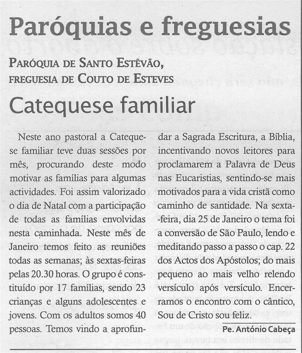 Catequese familiar : Paróquia de Santo Estêvão, Freguesia de Couto de Esteves .jpg