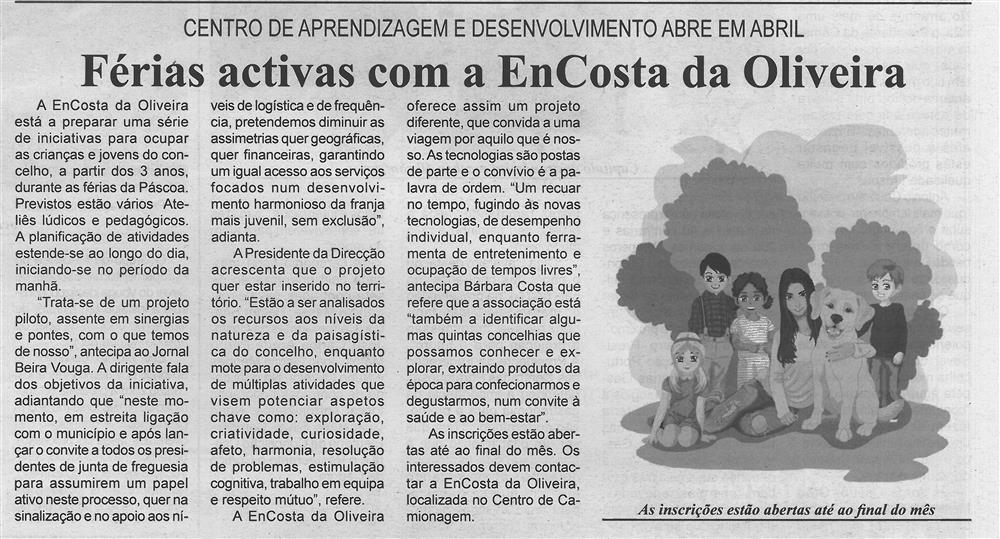BV-2.ªmar.'19-p.4-Férias ativas com a EnCosta da Oliveira : Centro de Aprendizagem e Desenvolvimento abre em abril.jpg