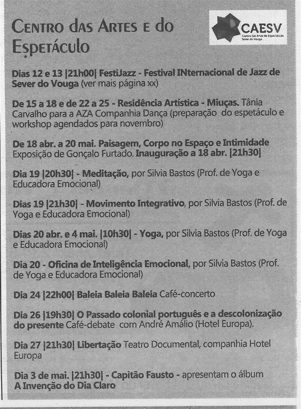 TV-abr.'19-p.11-Agenda Cultural [de] abril : Centro das Artes e do Espatáculo.jpg