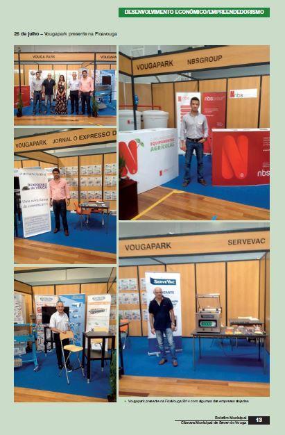 BoletimMunicipal-nº 31-nov'14-p.13-Desenvolvimento económico [8.ª parte de oito] : empreendedorismo : VougaPark.JPG
