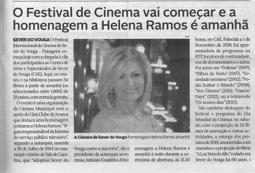 DA-30maio'19-p.23-O Festival de Cinema vai começar e a homenagem a Helena Ramos é amanhã.jpg