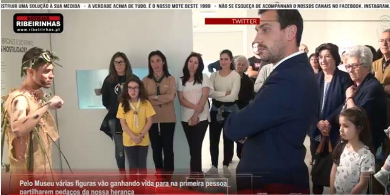 RibeirinhasTV-03jul.'19-'Há gente no Museu' é uma visita fora do comum no museu de Sever do Vouga.JPG