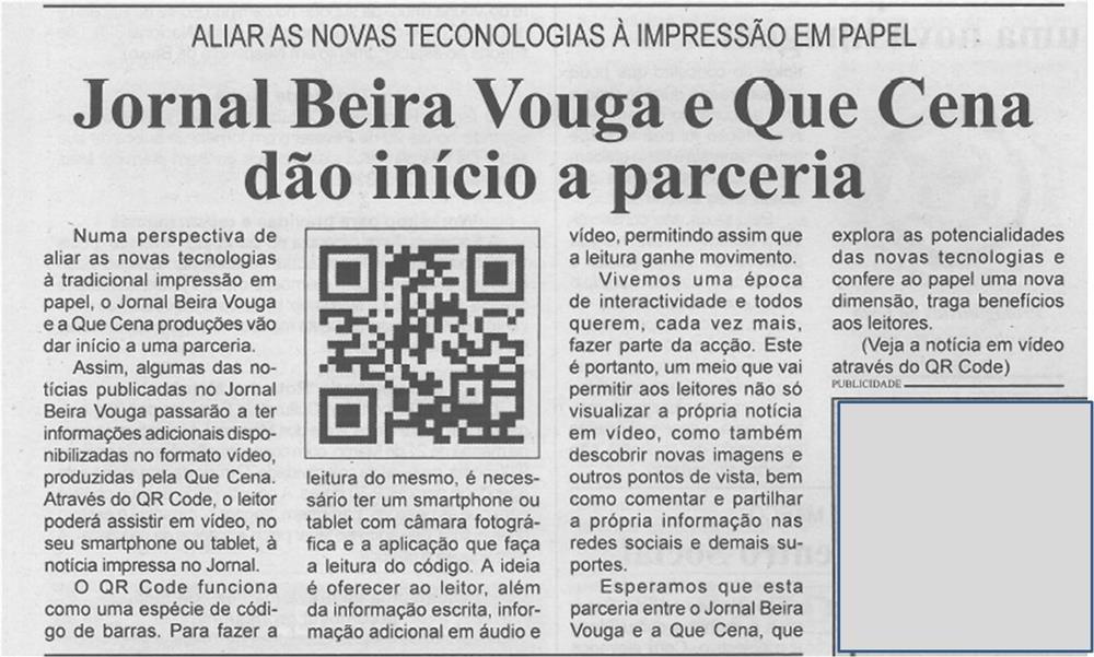 BV-2.ªfev.'15-p.3-Jornal Beira Vouga e Que Cena dão início a parceria : aliar novas tecnologias à impressão em papel.jpg