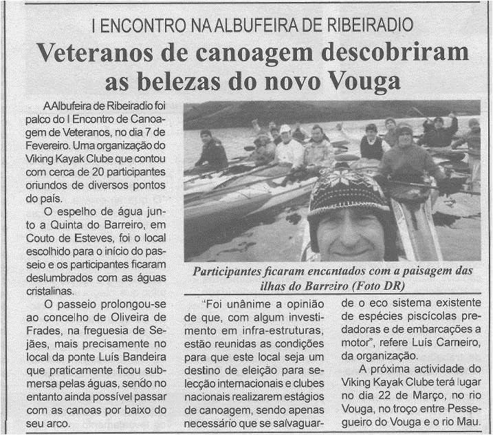 BV-2.ªfev.'15-p.4-Veteranos de canoagem descobriram as belezas do novo Vouga : I Encontro na Albufeira de Ribeiradio.jpg