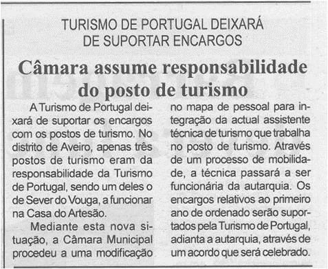 BV-2.ªfev.'15-p.4-Câmara assume responsabilidade do posto de turismo : Turismo de Portugal deixará de suportar encargos.jpg