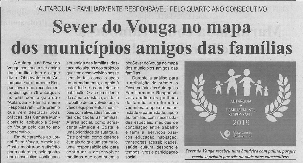 BV-2.ªnov.'19-p.4-Sever do Vouga no mapa dos municípios amigos das famílias : Autarquia + Familiarmente Responsável pelo quarto ano consecutivo.jpg
