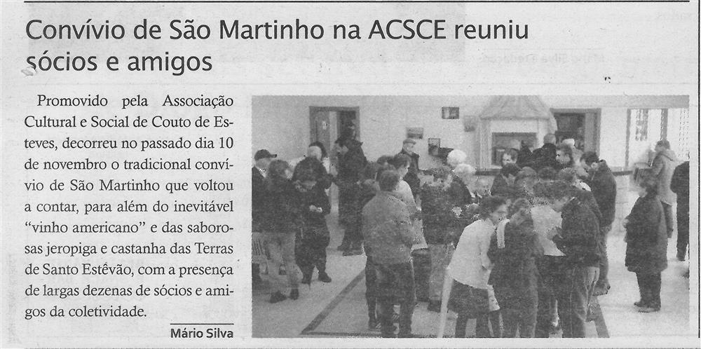 TV-dez.'19-p.14-Paróquias [e] Freguesias : Convívio de São Martinho na ACSCE reuniu sócios e amigos.jpg
