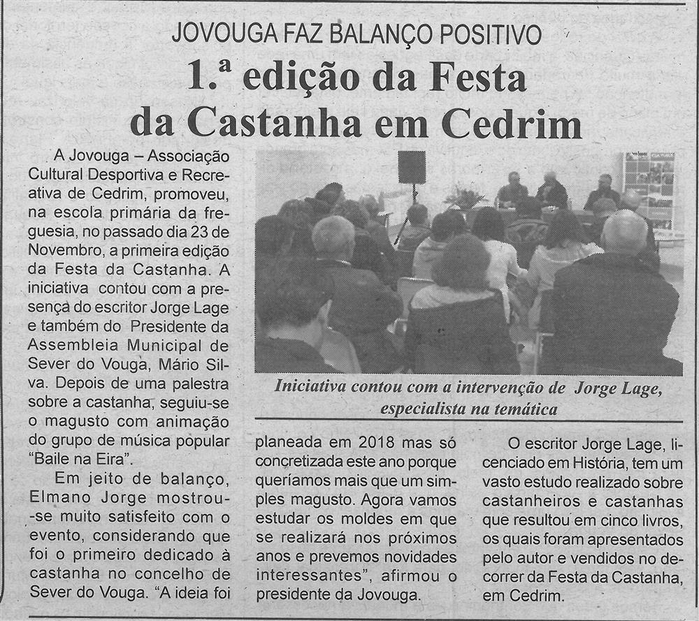 BV-1.ªdez.'19-p.4-1.ª edição da Festa da Castanha em Cedrim : Jovouga faz balanço positivo.jpg