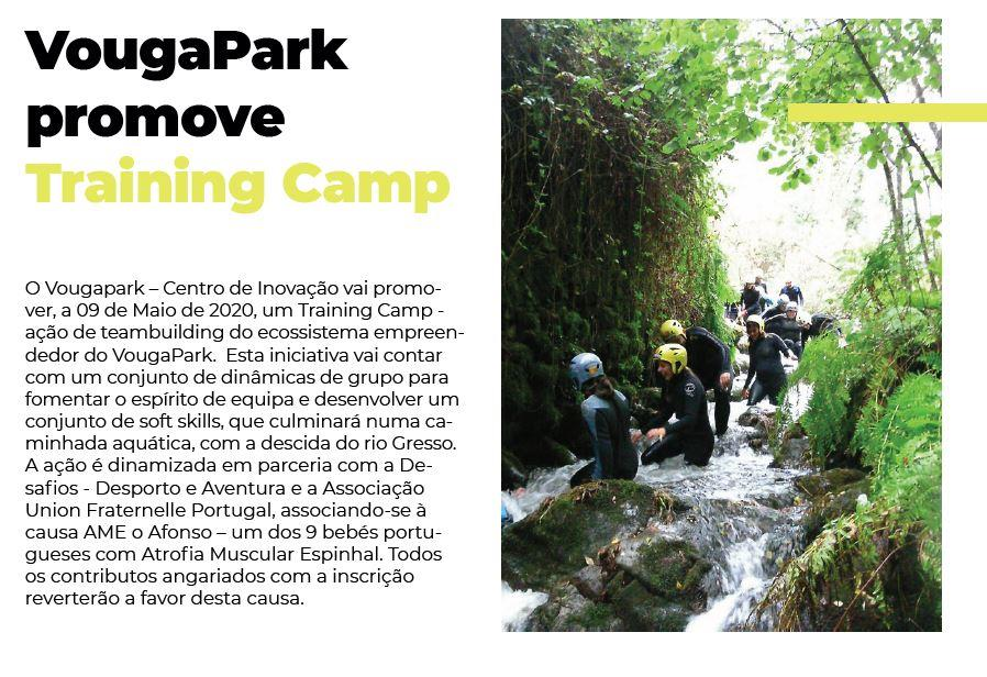 BoletimInfoSV-2.ºsem'19.-p.18-VougaPark promove Training Camp.JPG