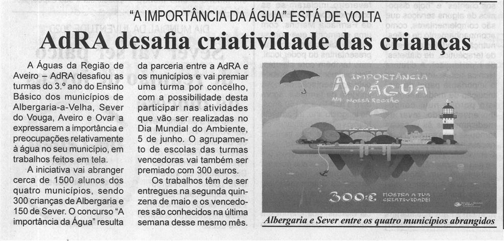 BV-2.ªfev.'20-p.7-AdRA desafia criatividade das crianças : 'A importância da água' está de volta.jpg