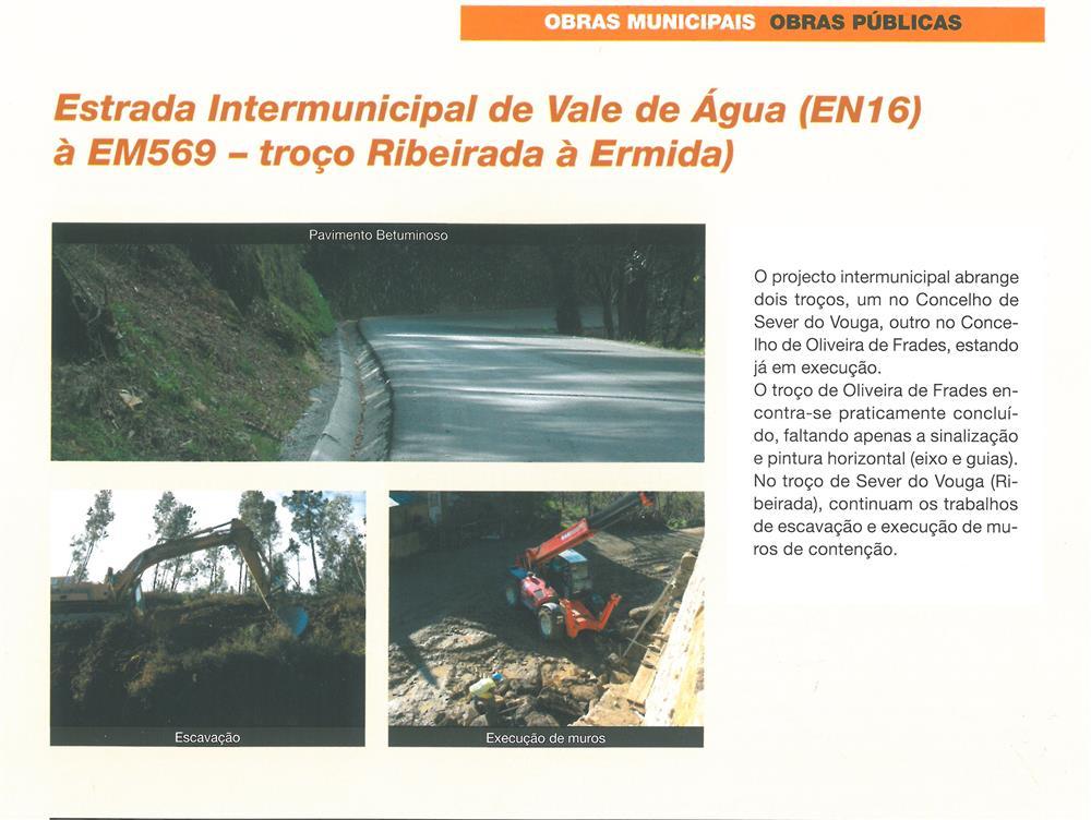 BoletimMunicipal-n.º 21-mar.'07-p.3-Obras Municipais : Obras Públicas : Estrada Intermunicipal de Vale de Água, EN16, à EM569 : troço Ribeirada à Ermida.jpg