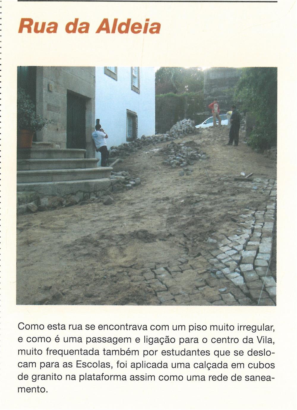 BoletimMunicipal-n.º 21-mar.'07-p.7-Obras Municipais : Obras Públicas : Rua da Aldeia.jpg