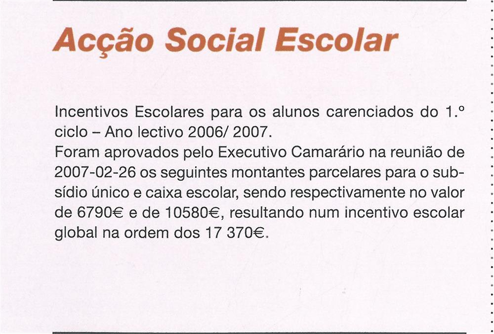 BoletimMunicipal-n.º 21-mar.'07-p.11-Educação : Ação Social Escolar.jpg