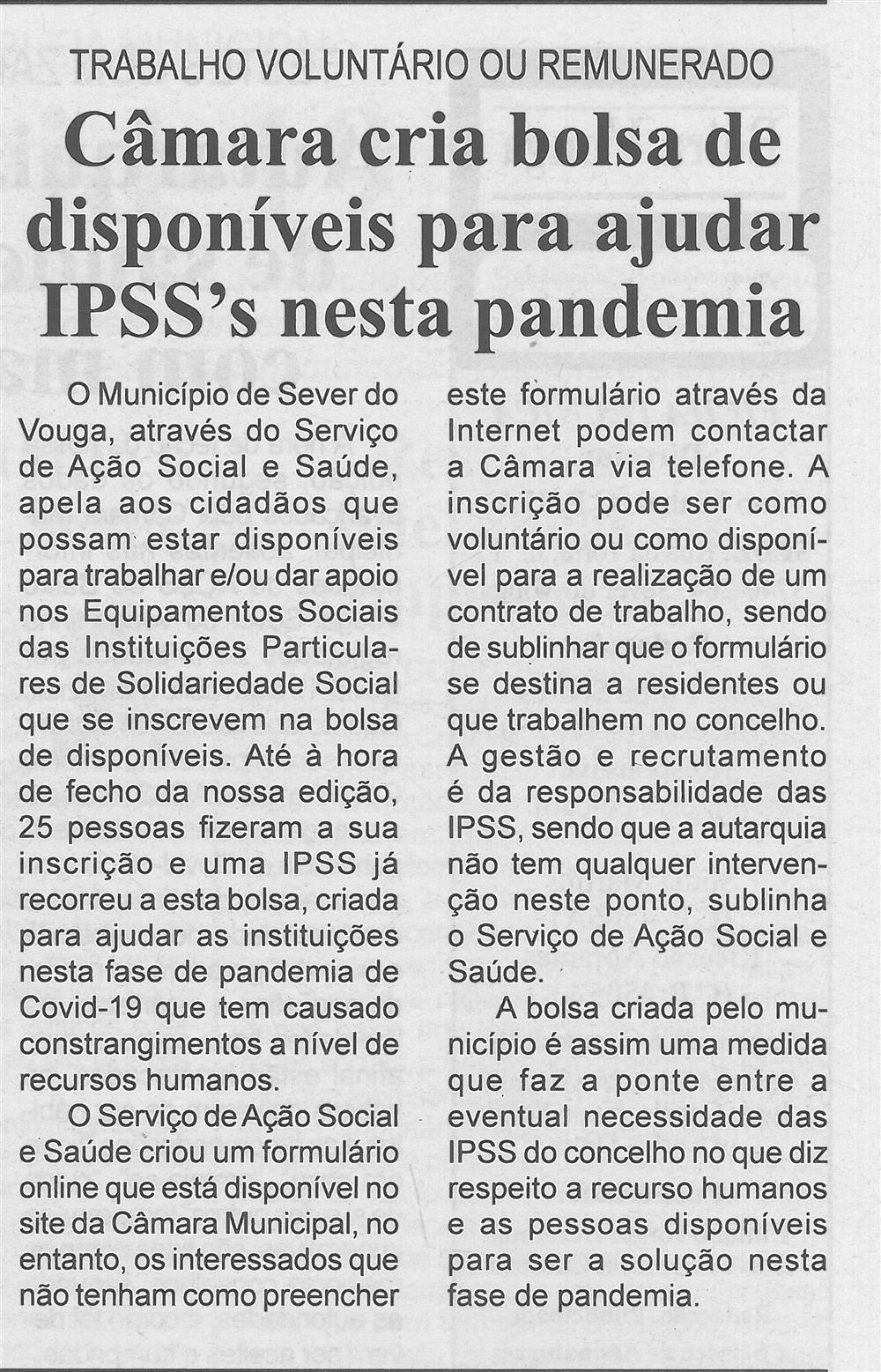 BV-2.ªabr.'20-p.3-Câmara cria bolsa de disponíveis para ajudar IPSS's nesta pandemia : trabalho voluntário ou remunerado.jpg
