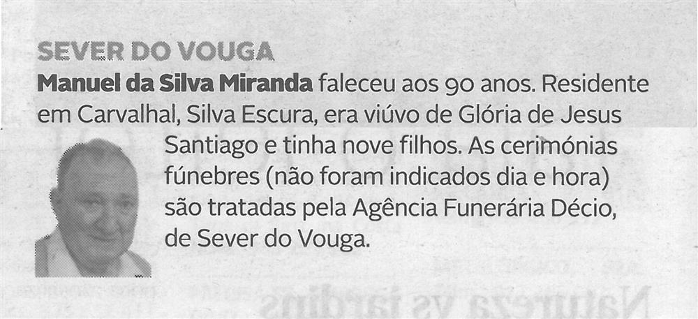 DA-10jun.'20,p.16-Sever do Vouga : Manuel da Silva Miranda.jpg