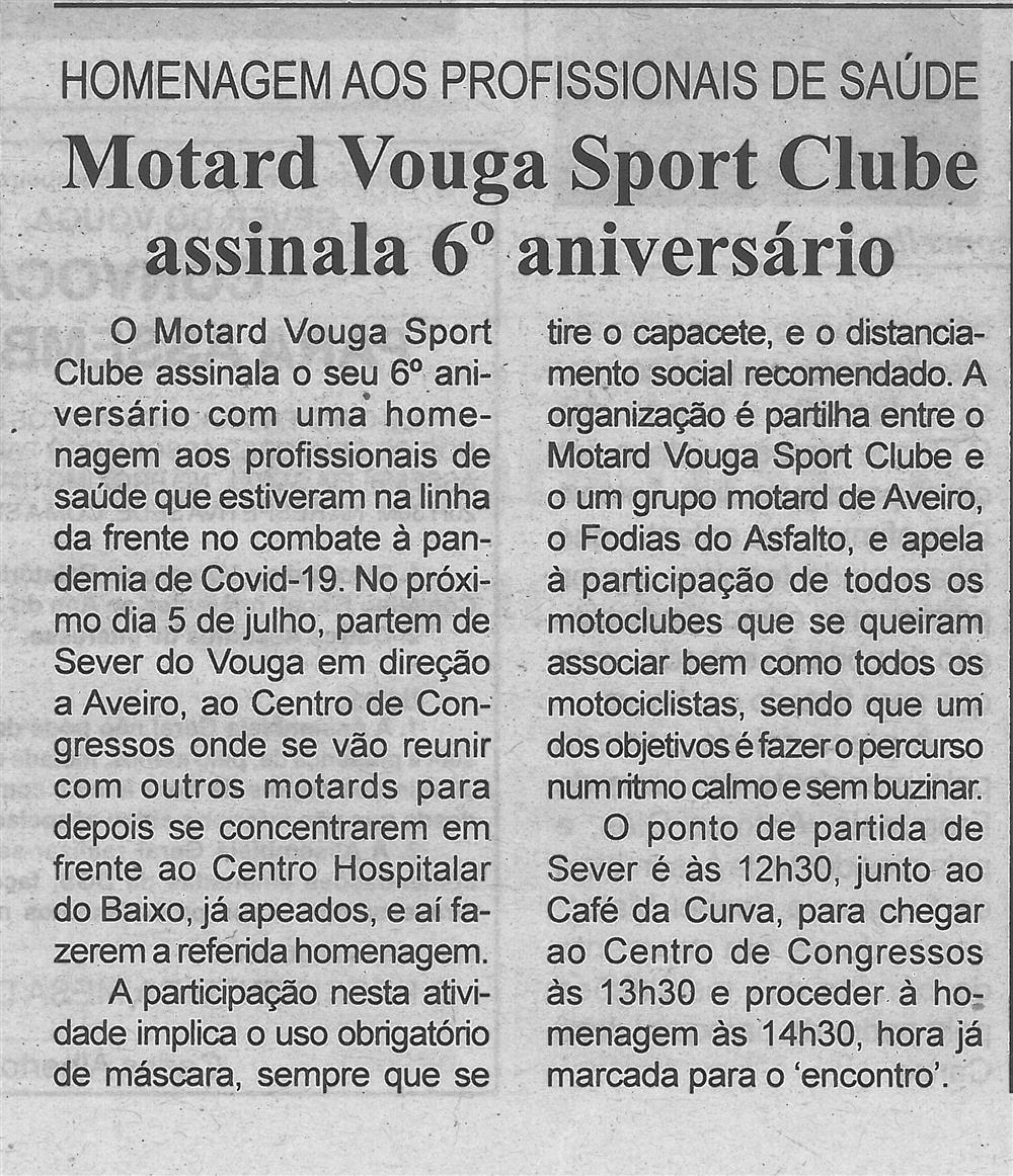 BV-2.ªjun.'20-p.4-Motard Vouga Sport Clube assinala 6.º aniversário : homenagem aos profissionais de saúde.jpg