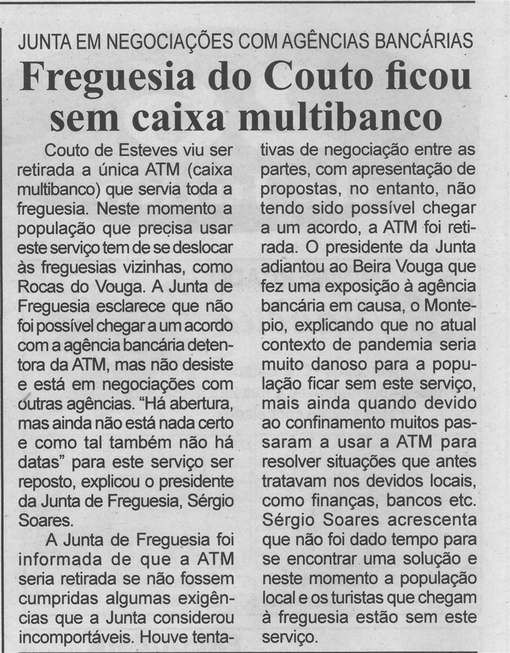 BV-2.ªjul.'20-p.6-Freguesia do Couto ficou sem caixa multibanco : Junta em negociações com agências bancárias.jpg