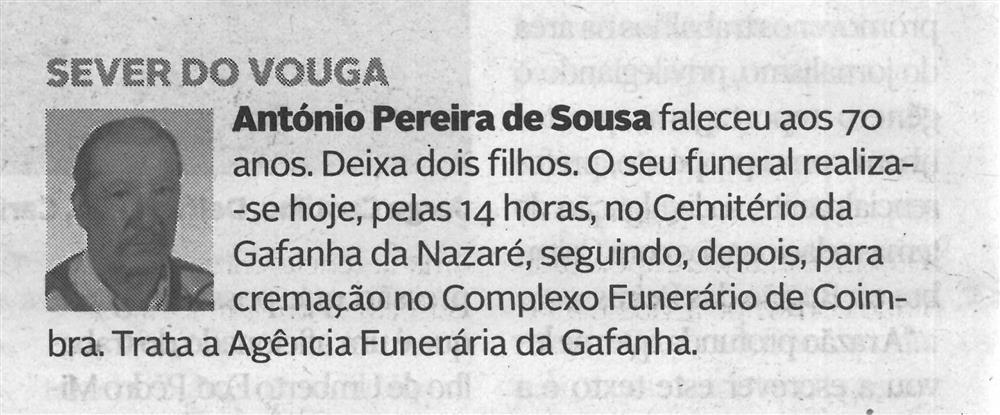 DA-15dez.'20-p.8-Sever do Vouga : António Pereira de Sousa.jpg