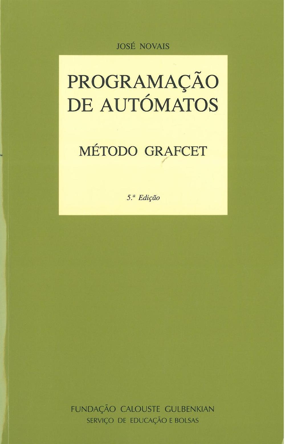 NOVAIS, José (2012). Programação de autómatos : método Grafcet.jpg