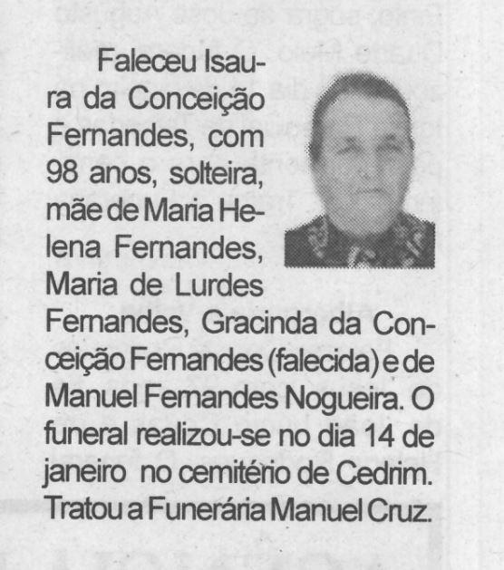 BV-2.ªjan.'21-p.14-Cedrim : [Isaura da Conceição Fernandes].JPG