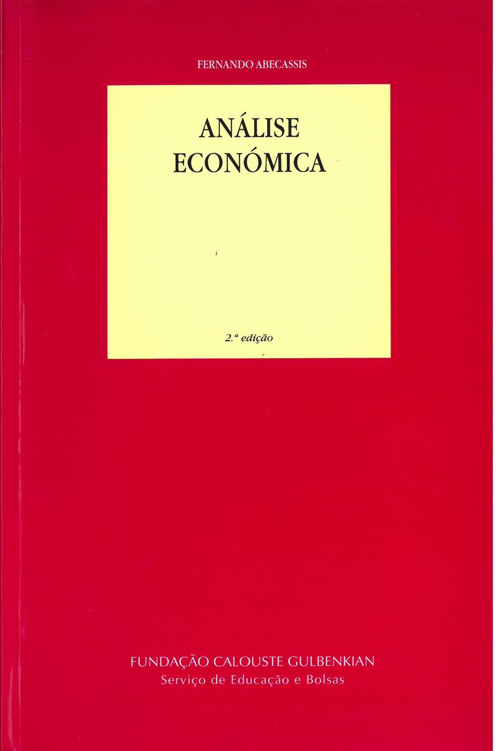 ABECASSIS, Fernando (2010). Análise económica.jpg