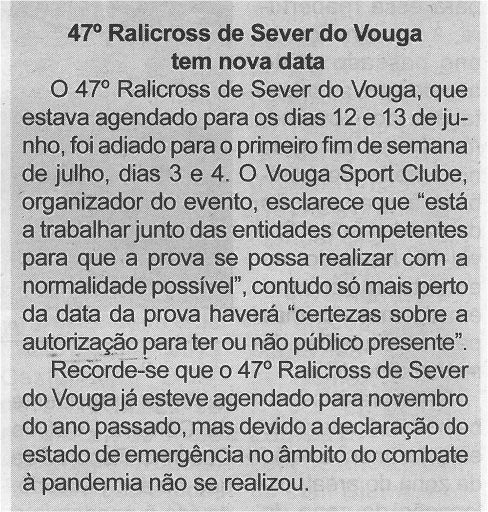 BV-1.ªjun.'21-p.6-47.º Ralicross de Sever do Vouga tem nova data.jpg