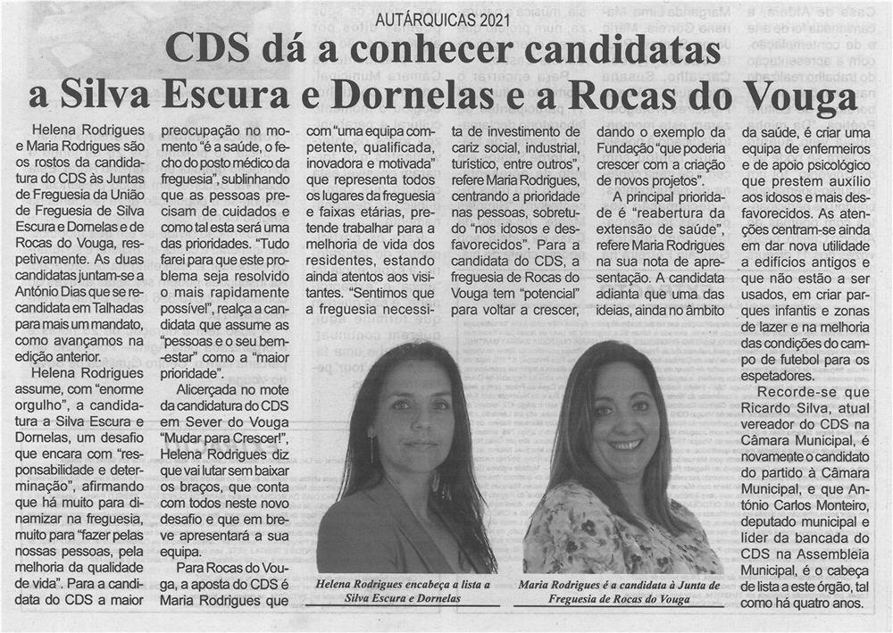 BV-2.ªjun.'21-p.5-Autárquicas 2021 : CDS dá a conhecer candidatas a Silva Escura e Dornelas e a Rocas do Vouga.jpg