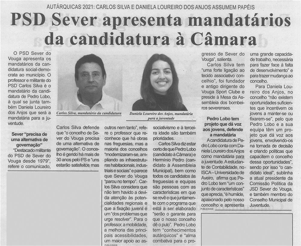 BV-2.ªjun.'21-p.7-Autárquicas 2021 : Carlos Silva e Daniela Loureiro dos Anjos assumem papéis : PSD Sever apresenta mandatários da candidatura à Câmara.jpg
