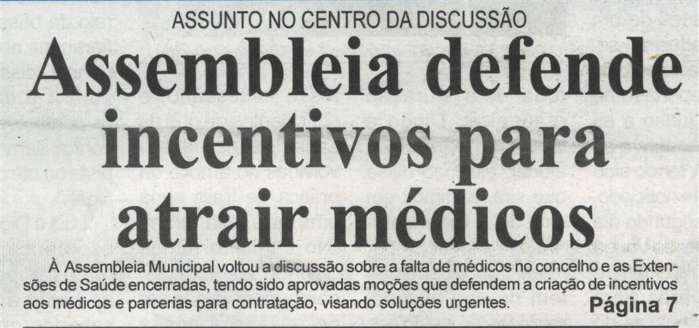 BV-1.ªjul.'21-p.1-Assembleia defende incentivos para atrair médicos.jpg