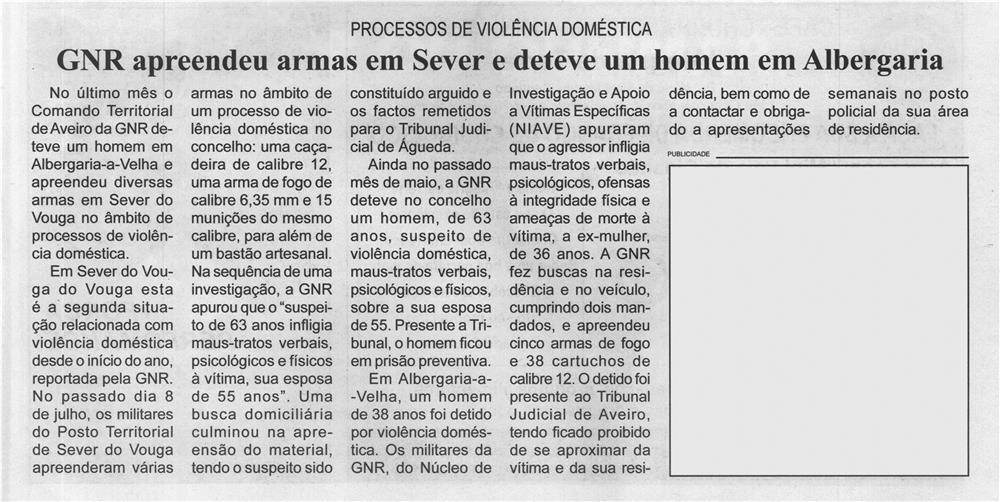 BV-2.ªjul.'21-p.9-GNR apreendeu armas em Sever e deteve um homem em Albergaria : processos de violência doméstica.jpg