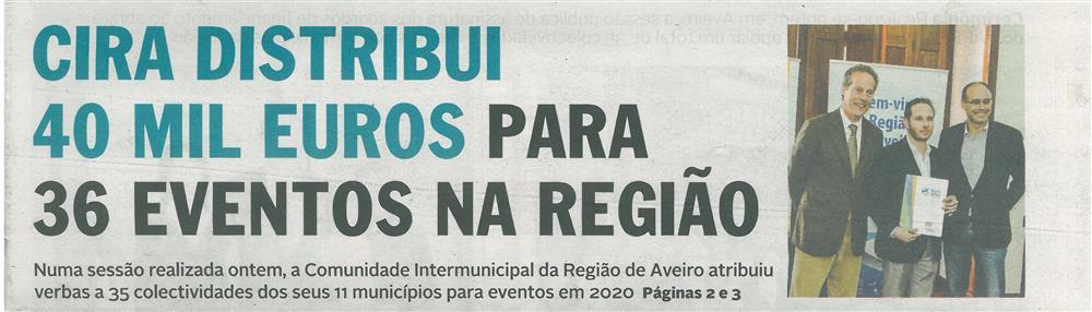 DA-01mar.'20,p.1-CIRA distribui 40 mil euros para 36 eventos na Região.jpg