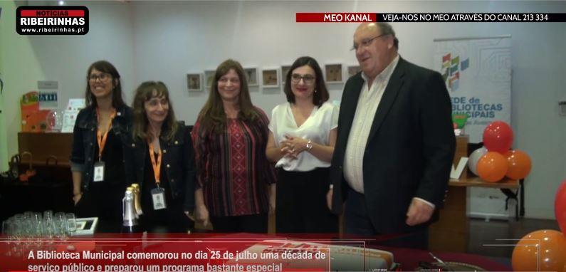 RibeirinhasTV-02ago.'19-Biblioteca de Sever do Vouga comemorou 10 anos de atividade com um grande programa.JPG
