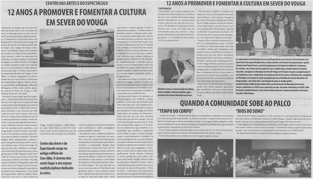 TV-dez13-p8 e 9-12 anos a promover e fomentar a cultura em Sever do Vouga