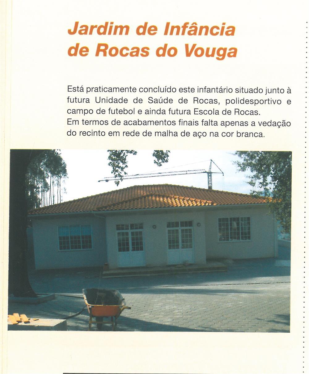 BoletimMunicipal-n.º 21-mar.'07-p.6-Obras Municipais : Obras Públicas : Jardim de Infância de Rocas do Vouga.jpg