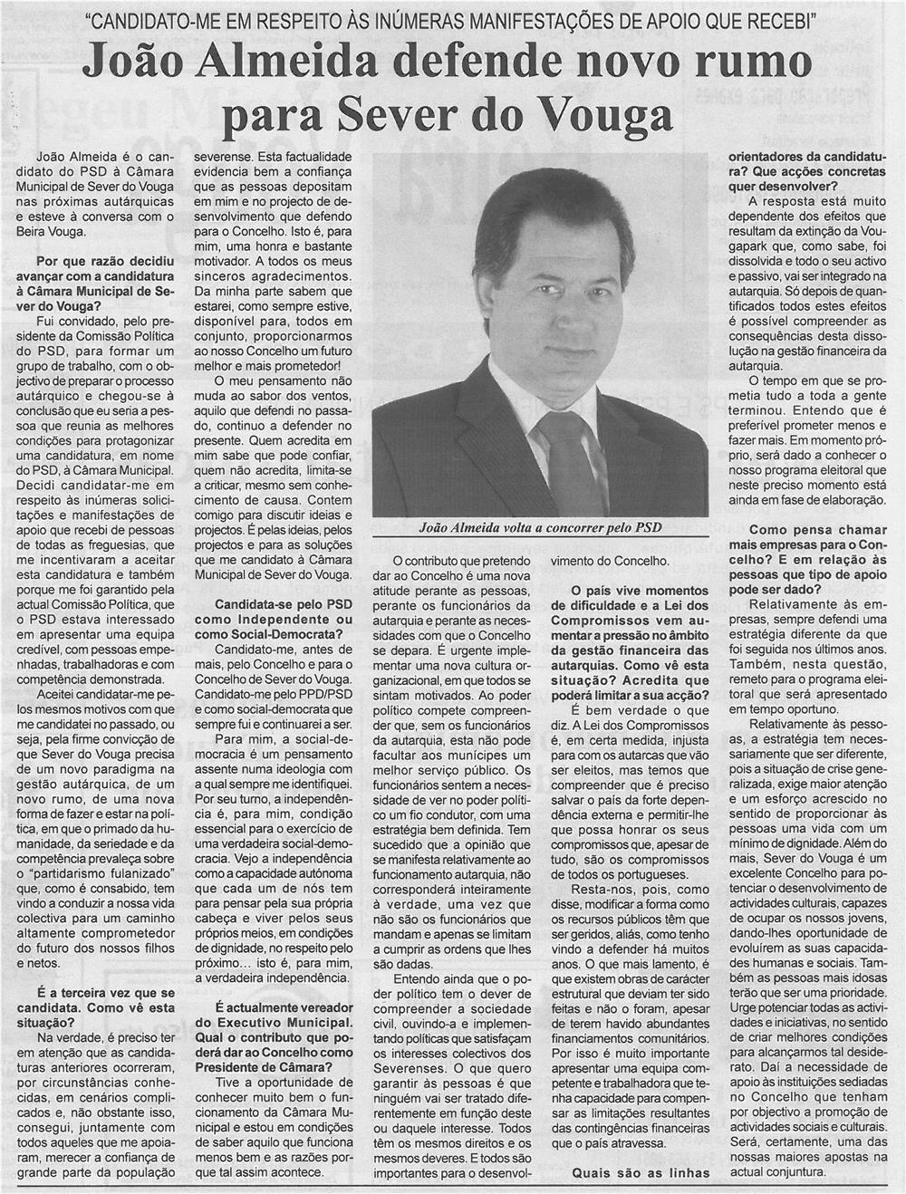 BV-2ªabr13-p2-João Almeida defende novo rumo para Sever do Vouga