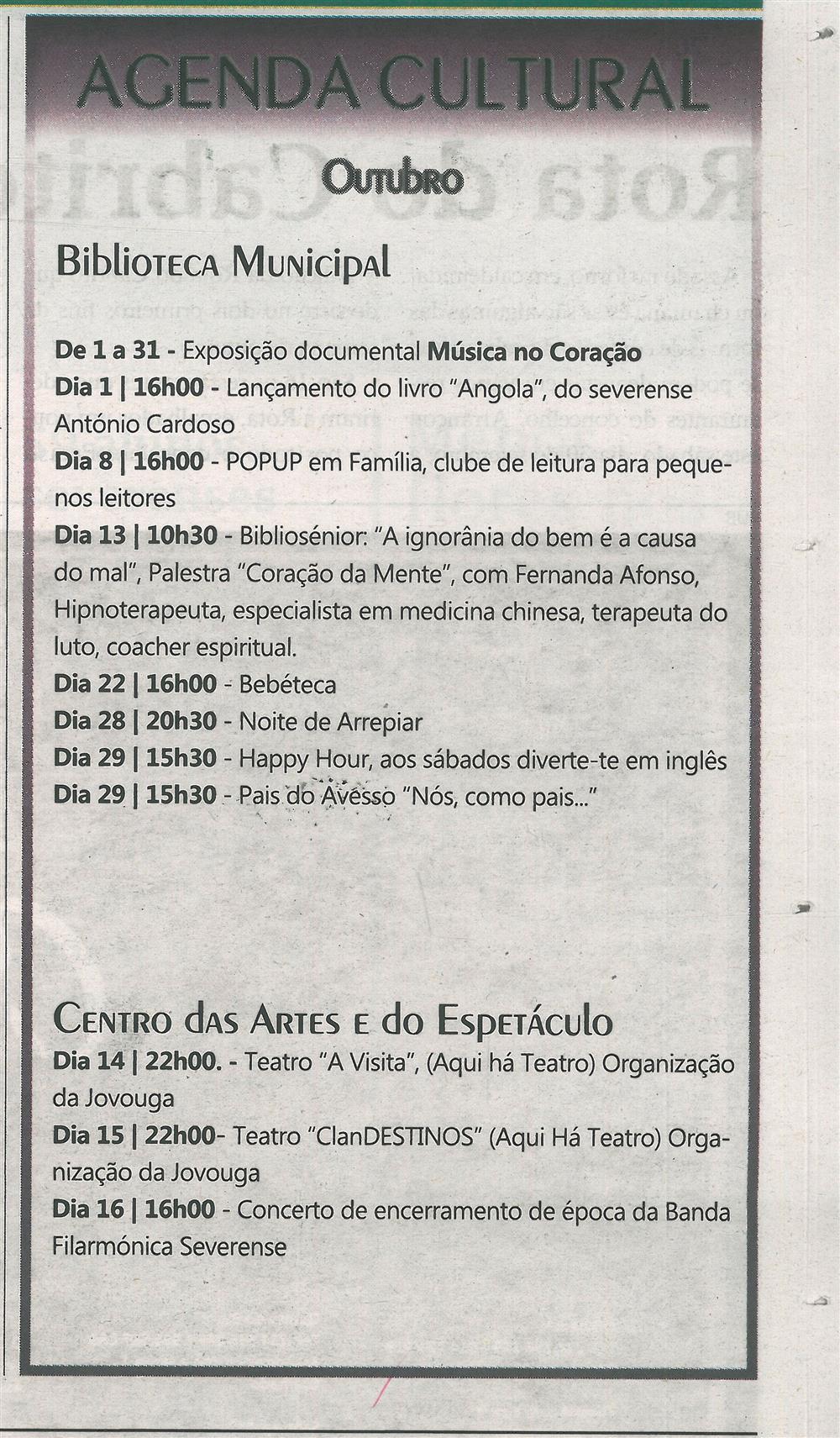 TV-out.'16-p.19-Agenda Cultural : outubro : Biblioteca Municipal : Centro das Artes e do Espetáculo.jpg