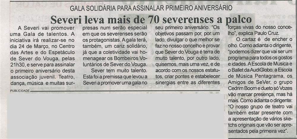 BV-2.ªmar.'18-p.2-Severi leva mais de 70 severenses a palco : gala solidária para assinalar primeiro aniversário.jpg