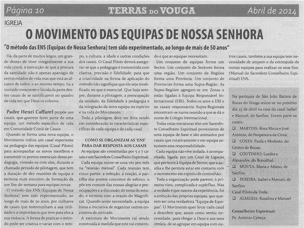 JPEG: TV-abr14-p10-O Movimento das Equipas de Nossa Senhora