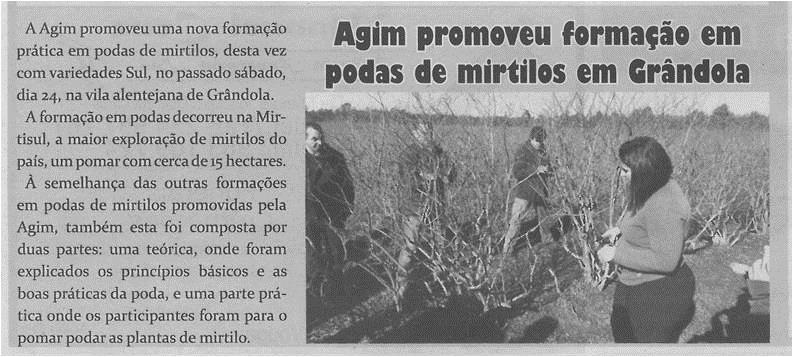 TV-fev.'15-p.11-Agim promoveu formação em podas de mirtilos em Grândola.jpg