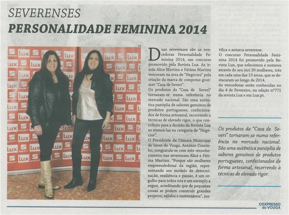 EV-fev.'15-p.3-Personalidade Feminina 2014 : severenses.jpg