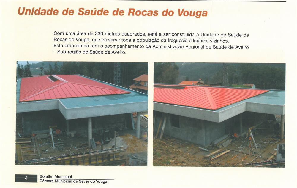 BoletimMunicipal-n.º 21-mar.'07-p.4-Obras Municipais : Obras Públicas : Unidade de Saúde de Rocas do Vouga.jpg
