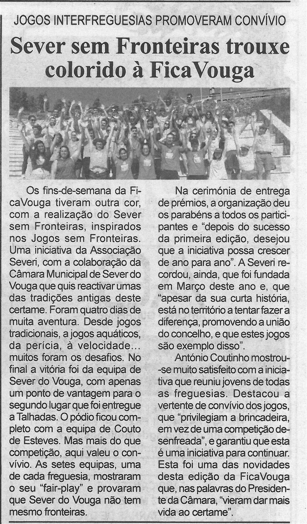 BV-1.ªago.'17-p.7-Sever Sem Fronteiras trouxe colorido à FicaVouga : jogos interfreguesias promoveram convívio.jpg