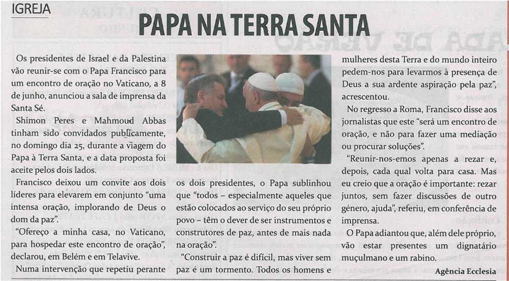 TV-jun14-p20-Papa na Terra Santa