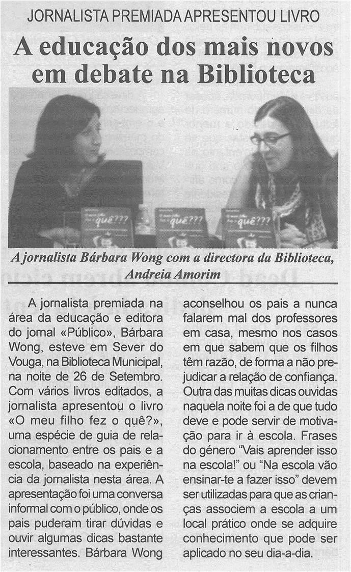 BV-1.ªout.'14-p6-A educação dos mais novos em debate na Biblioteca : jornalista premiada apresentou livro.jpg