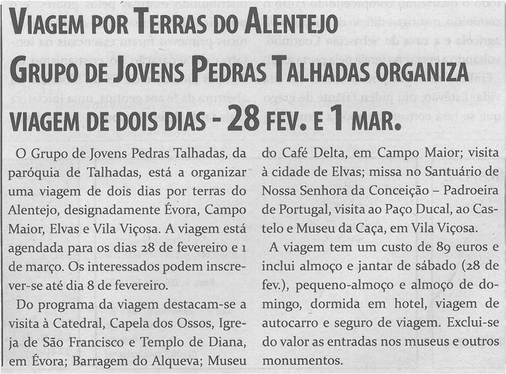 TV-fev.'15-p.8-Viagem por Terras do Alentejo : Grupo de Jovens Pedras Talhadas organiza viagem de dois dias.jpg