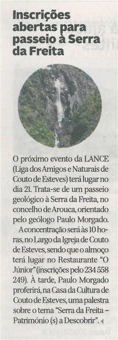 DA-28fev.'15-p.18-Inscrições abertas para passeio à Serra da Freita.jpg
