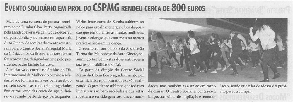 TV-abr.'15-p.5-Evento solidário em prol do CSPMG rendeu cerca de 800 euros.jpg