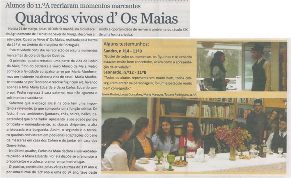 JE-maio'15-p.5-Alunos do 11.º A recriaram momentos marcantes : quadros vivos d' Os Maias.jpg